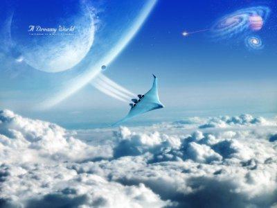 Картинки с фантастическими мирами (26 картинок)