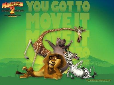Картинки из мультфильма Мадагаскар 2 и других мультфильмов (25 картинок)