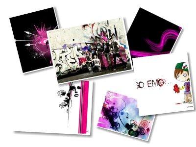 Эмо картинки (40 картинок)