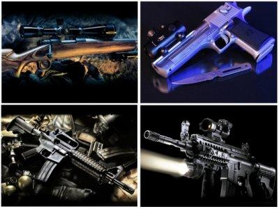 Картинки с Оружием (110 картинок)