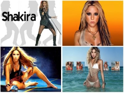 Картинки с Шакирой (50 картинок)