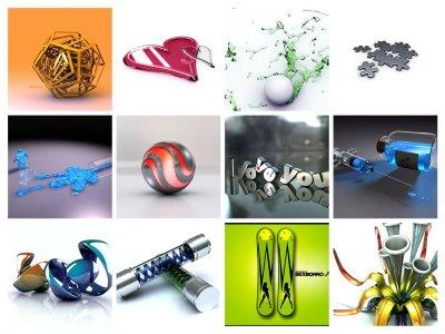 Подборка классных 3D-картинок на рабочий стол (65 картинок)